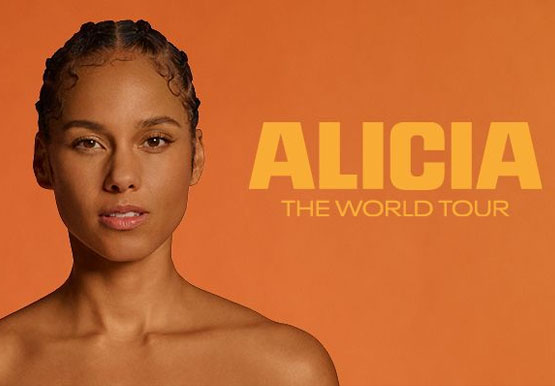 ALICIA KEYS - WORLD TOUR - GLOBE ARENA 15 JUNI 2021